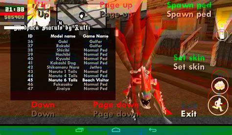 download game mod naruto for android gta sa mod naruto android youtube