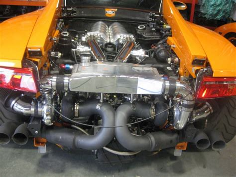 lamborghini engine turbo lamborghini gallardo lp560 4 orange twinturbo engine