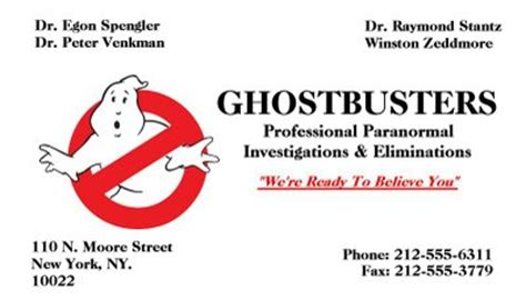 ghostbusters id card template free replica props lalalandstudios