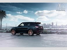 AG Luxury Wheels - Range Rover Sport Forged Wheels Range Rover