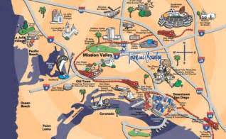 San Diego Tourist Map by San Diego Map Tourist Attractions Map Travel Holiday