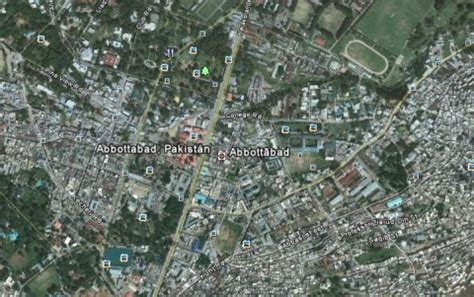bin laden abbottabad google earth google earth y bin laden el geeky