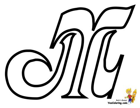 M Coloring Pages by Cursive Letter Coloring Page Free Letter