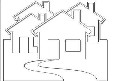 desenho de casas desenhos de casas para colorir e pintar desenhos para