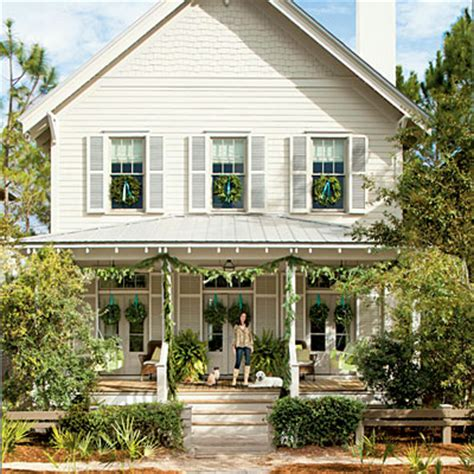 coastal xmas decor home tours house home tour cottage bungalow