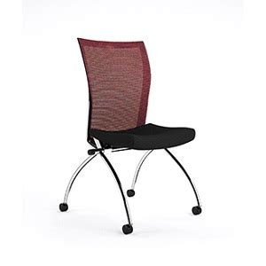 Comfy Armless Chairs Mayline Valore High Back Chair Armless