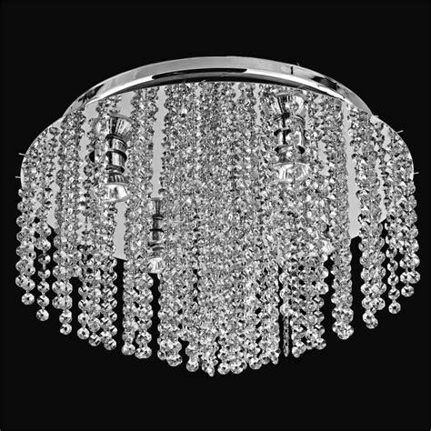crystal flush mount light crystal ceiling light flush mount crystal rain 566