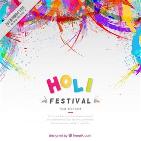 Desain Poster Pamflet Baliho Editing Foto D fondo de festival holi abstracto de colores descargar