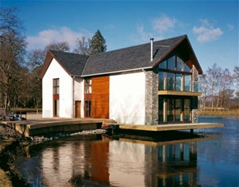 loch house  killearn housing scotlands  buildings architecture  profile