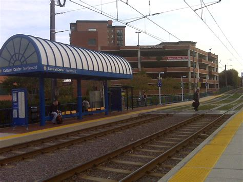 Md Light Rail by Cultural Center Station