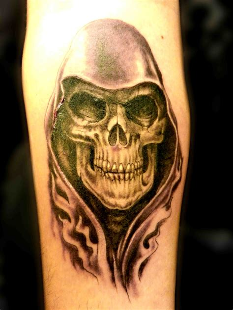 black and grey skull tattoo designs tattoo truro skull tattoo hooded smoke black grey sleeve