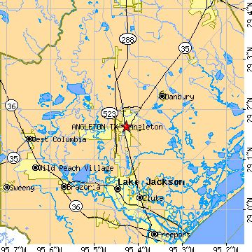 where is angleton texas on a texas map angleton texas tx population data races housing economy