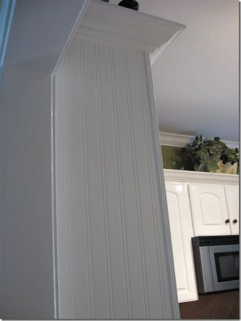beadboard wallpaper on cabinets bead board wallpaper diy home improvements decorating