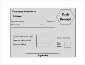 Money Receipt Template by Money Receipt Template 11 Free Sle Exle Format