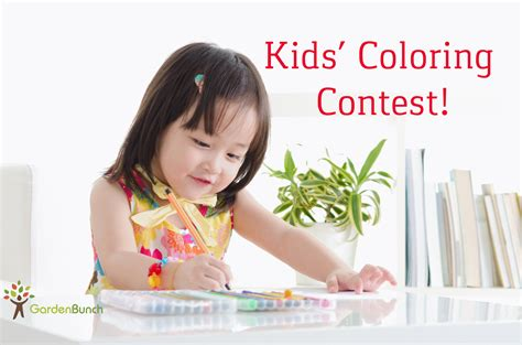 contest for students may coloring contest for gardenbunch