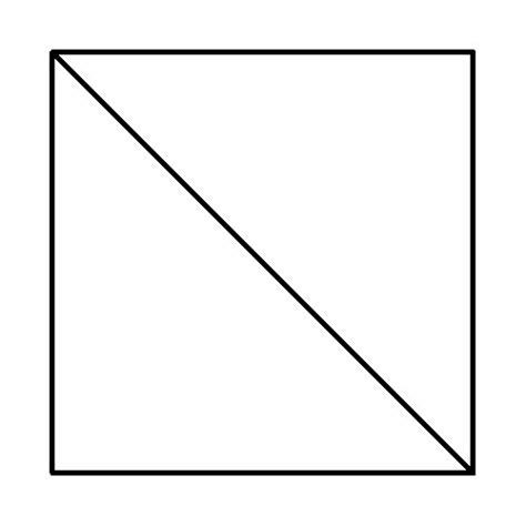 Triangle Square sewbot s laboratory jargon of the week half square