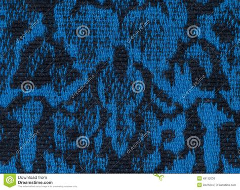 pattern black and blue fabric texture endless pattern black and blue stock photo