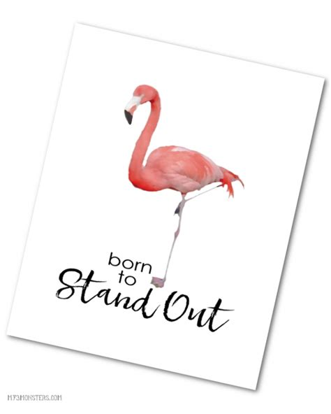 Flamingo Home Decor Born To Stand Out Flamingo Print Party Ideas 187 Lolly Jane