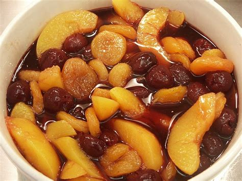 fruit compote roasted fruit compote