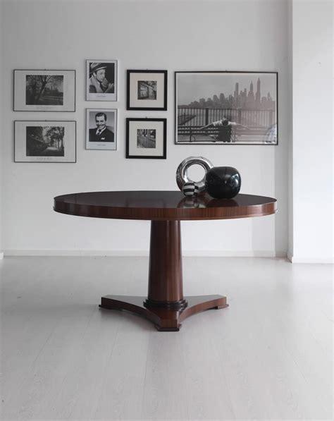 tavoli contemporaneo design tavolo rotondo in legno in stile contemporaneo idfdesign