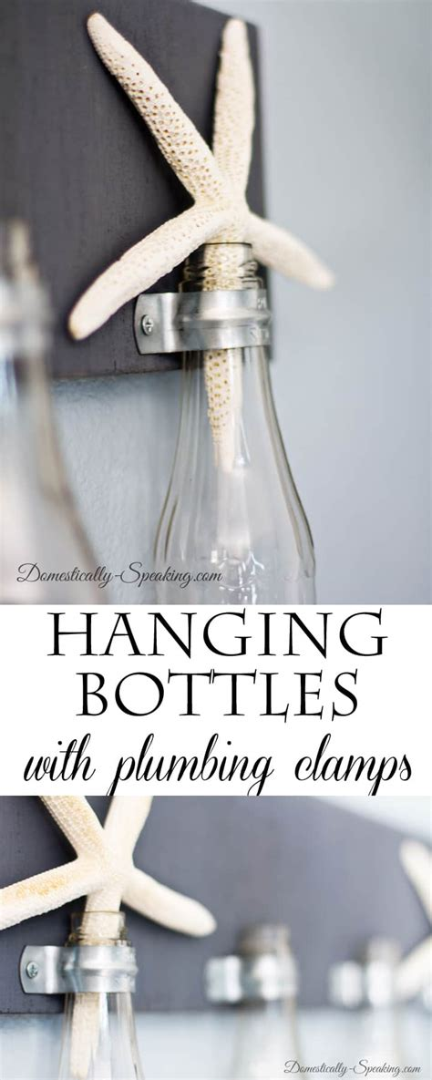 make your own hanging l diy hanging bottle decor domestically speaking