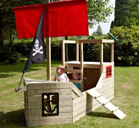 backyard pirate ship plans kids new toys pirate galleon playship wooden boat ship