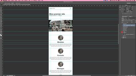 photoshop mobile tuto formation photoshop webdesign mobile avec