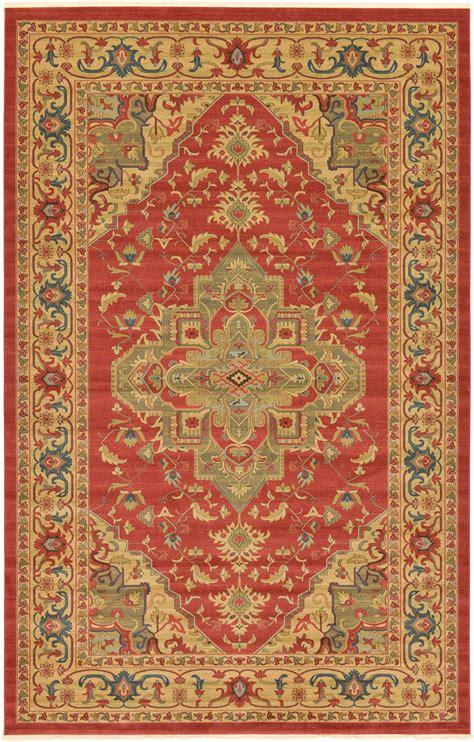 Bordered Area Rugs Classic Carpet Border Area Rug Large Carpet Heriz Design Rugs Ebay