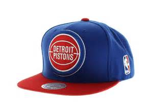 colors detroit detroit pistons team colors the xl logo snapback by