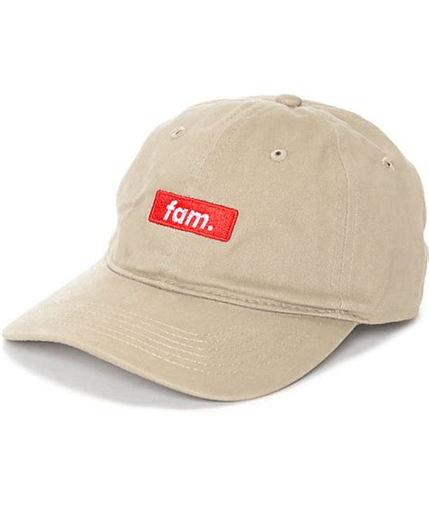 Fam Rewards Gift Card - artist collective fam khaki baseball hat zumiez