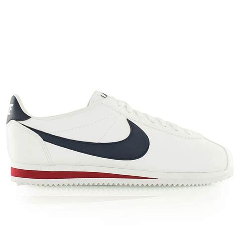 Nike Classic Cortez Leather White Navy nike classic cortez leather white midnight navy