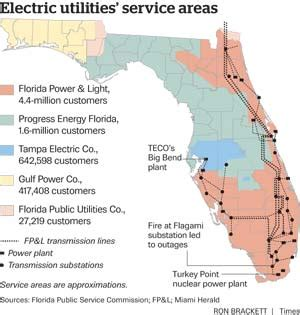 power outage map florida florida power and light outages www lightneasy net