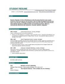 College Student Resume Builder Resume Builder For Students Learnhowtoloseweight Net