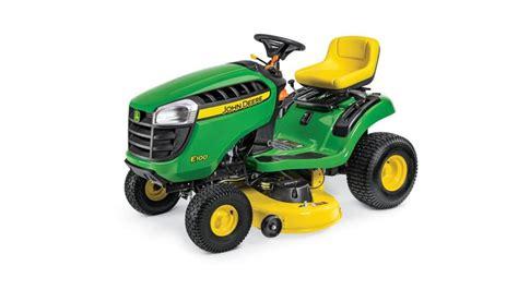 john deere  series lawn tractor review