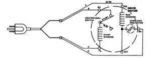 wiring a washing machine motor topic