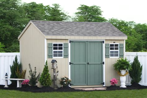 buy diy storage shed kits or built on site kits