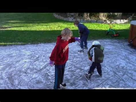 how to make a rink in your backyard global synthetic ice full size rink with lines doovi