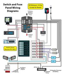 wiring for a switch panel and bar page 1 iboats boating forums 9079112