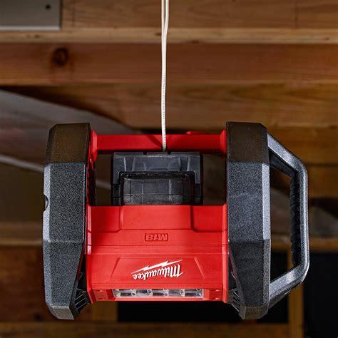 milwaukee m18 flood light milwaukee 2361 20 m18 18 volt led flood light bare tool