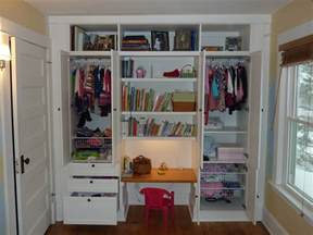 a built in closet system functional for a big house