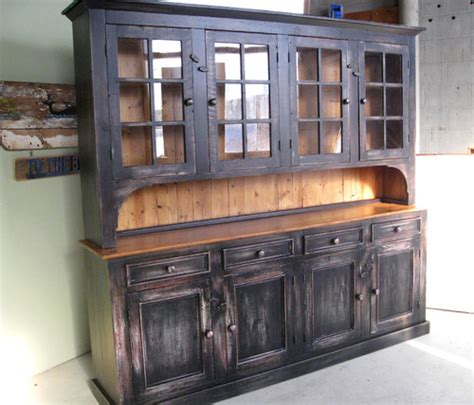 cost   large rustic cabinethutch