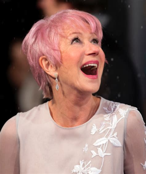 pink highlights hair older women debbie harry liza takes fashion