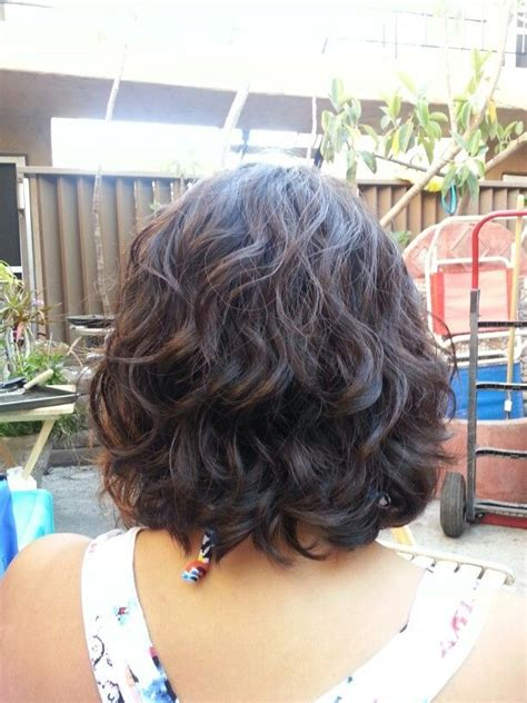 hair style ideas with slight wave in short 8 best short hair perm images on pinterest hair cut