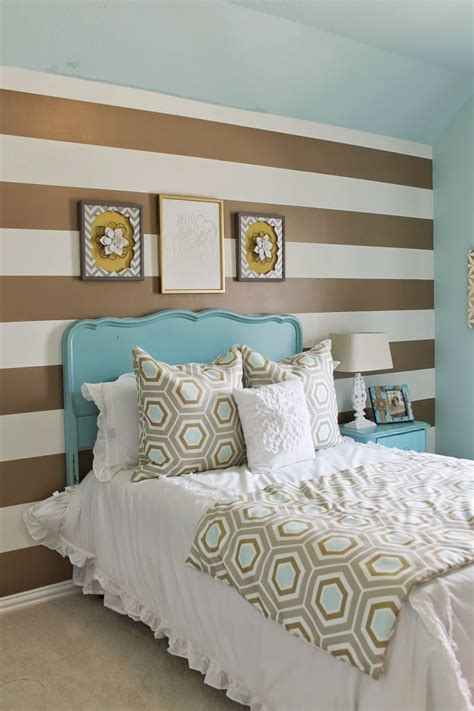 Turquoise And Gold Bedroom Decor by 23 Blue And Turquoise Accents Bedroom Designs