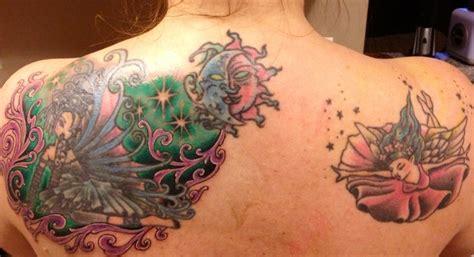 tattoo back murals tattoo beginning of upper back mural tattoos pinterest
