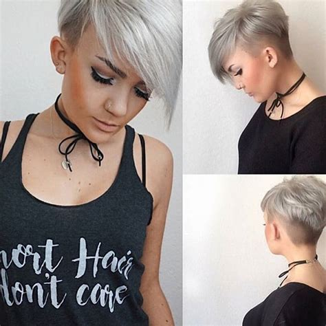 longer pixie haircuts for women pixie haircut with long bangs 2018 life style by