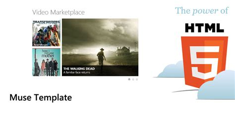 muse template muse template marketplace by metroui on deviantart