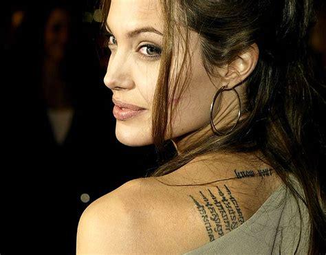 angelina jolie unbroken tattoo angelina jolie s unbroken hero was her neighbor all