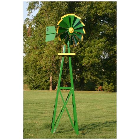 decorative backyard windmill outdoor water solutions 174 small galvanized ornamental