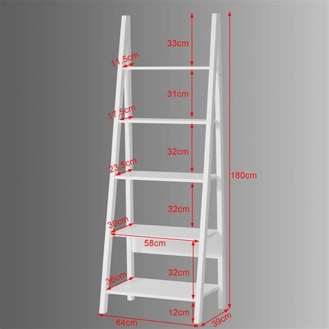 What Is Shelf Company by Sobuy 174 Ladder Style Bookcase Shelving Storage Display